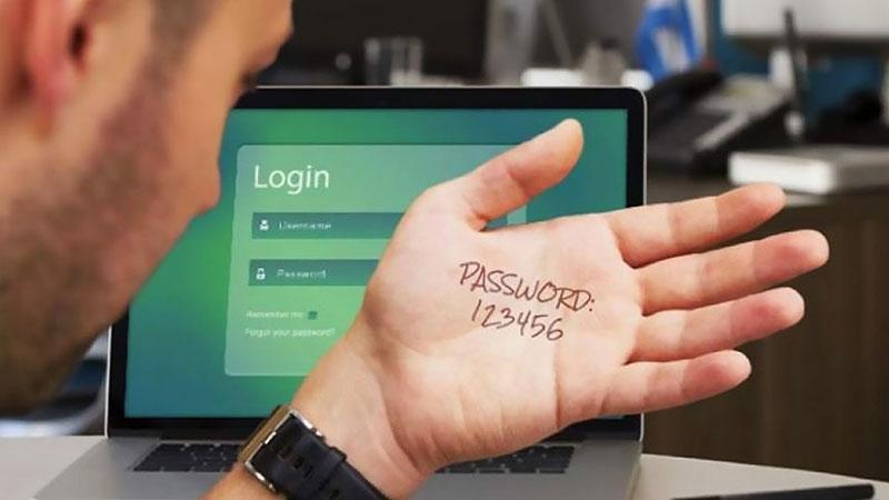 رمز عبور غیرامن