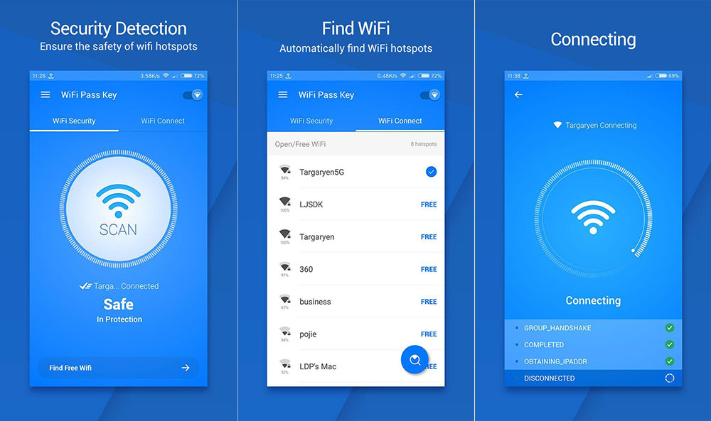 هک کردن شبکه وای فای با برنامه WiFi Pass Key