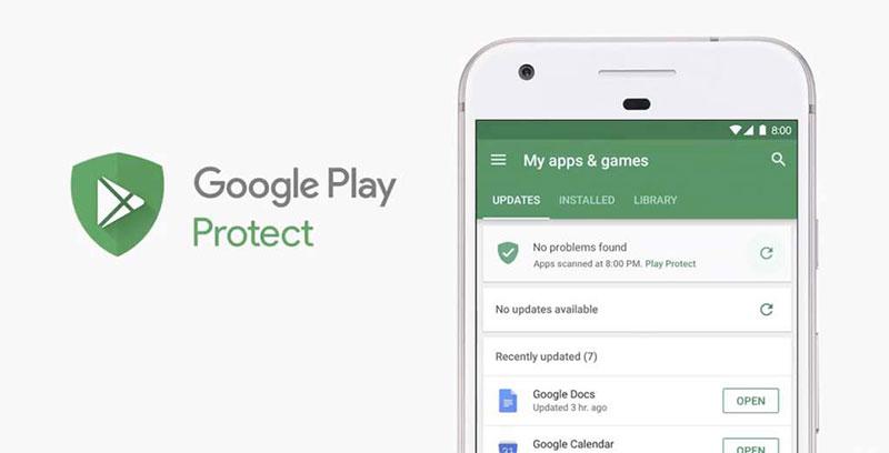 سپر ایمنی گوگل پلی