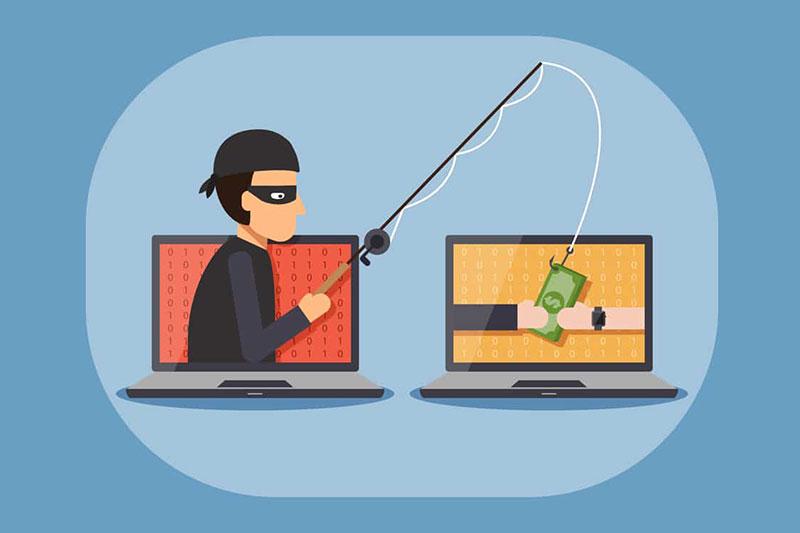 سرقت بانکی با صفحات فیشینگ