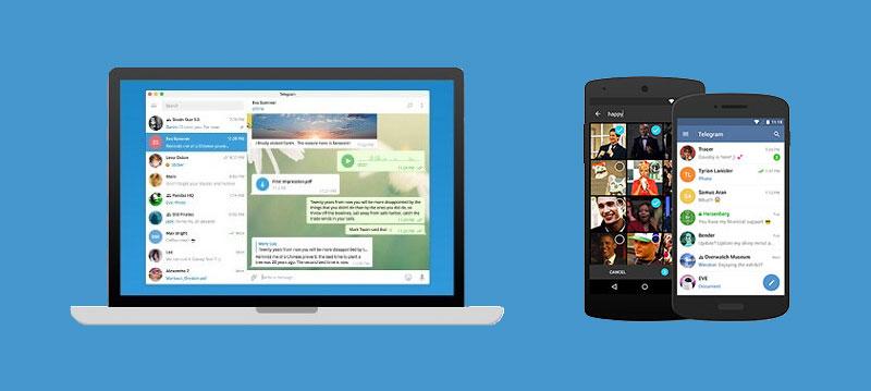 نصب تلگرام روی دستگاه های دیگر
