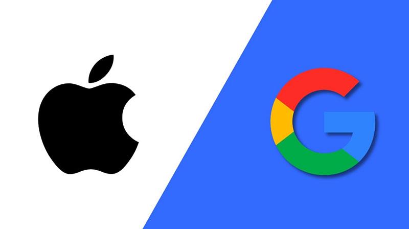 رقابت اپل و گوگل در موبایل