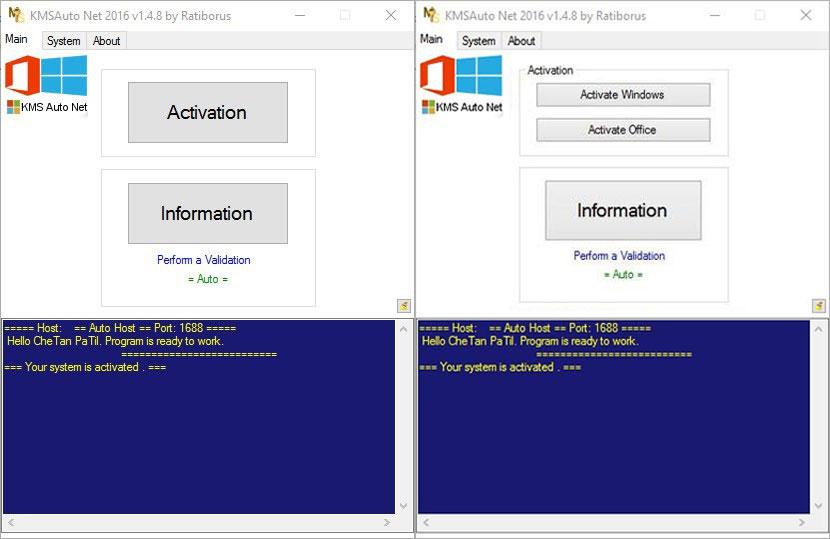 اکتیو کردن ویندوز با برنامه KMSAuto